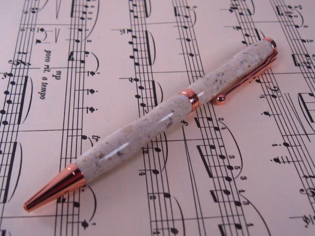 Corian Copper Fun Line Ballpoint Twist
