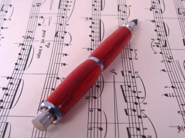 Chrome Artists Sketch Pencil with Padauk