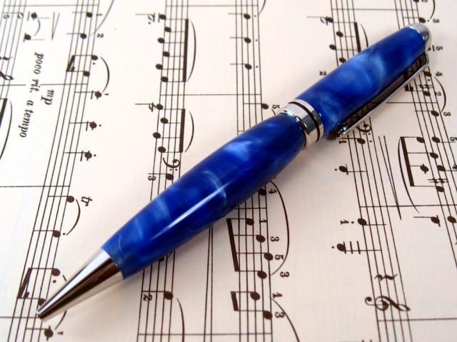"Platinum Acrylic ""Dreamscape"" European Ballpoint Pen"