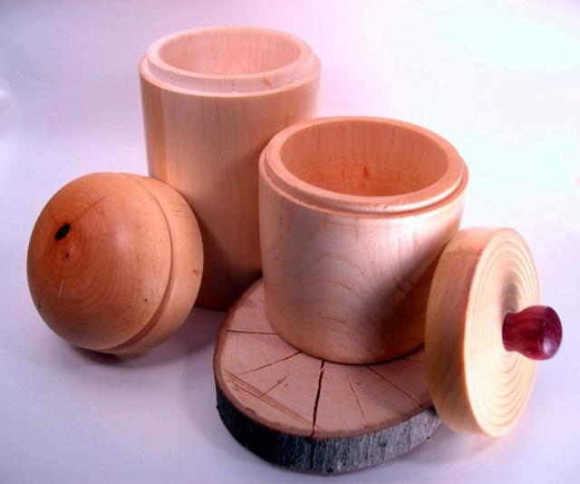 Maple Canisters