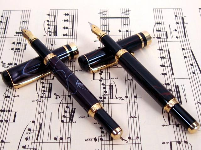 Double Acrylic Fountain Pen Set