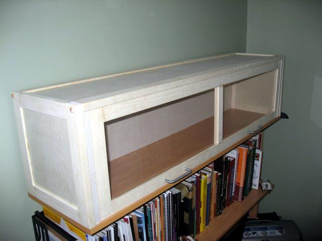 Barrister Style Bookcase Top