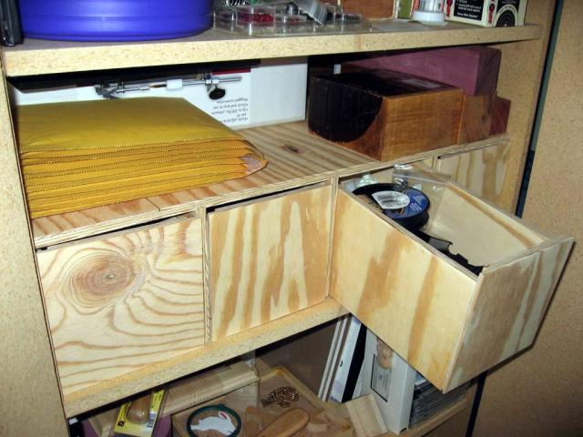 Craft Cabinet Drawers