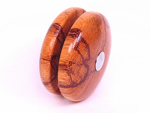 Marblewood and Chrome YoYo