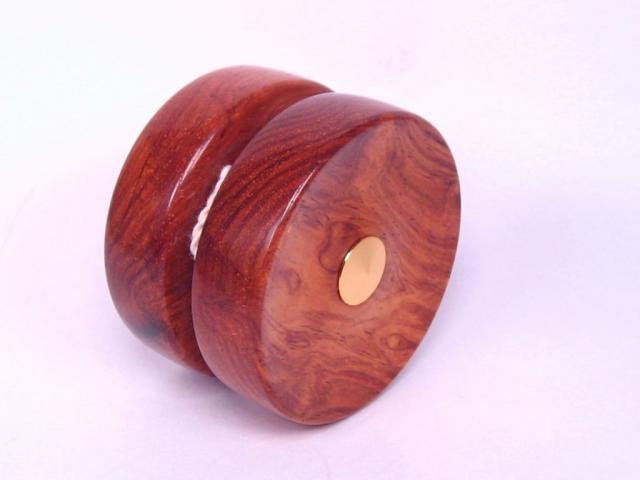 Honduran Rosewood and Gold Yo Yo