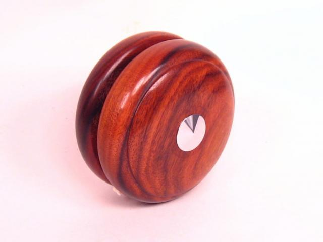 Bolivian Rosewood and Chrome Plated Yo-Yo